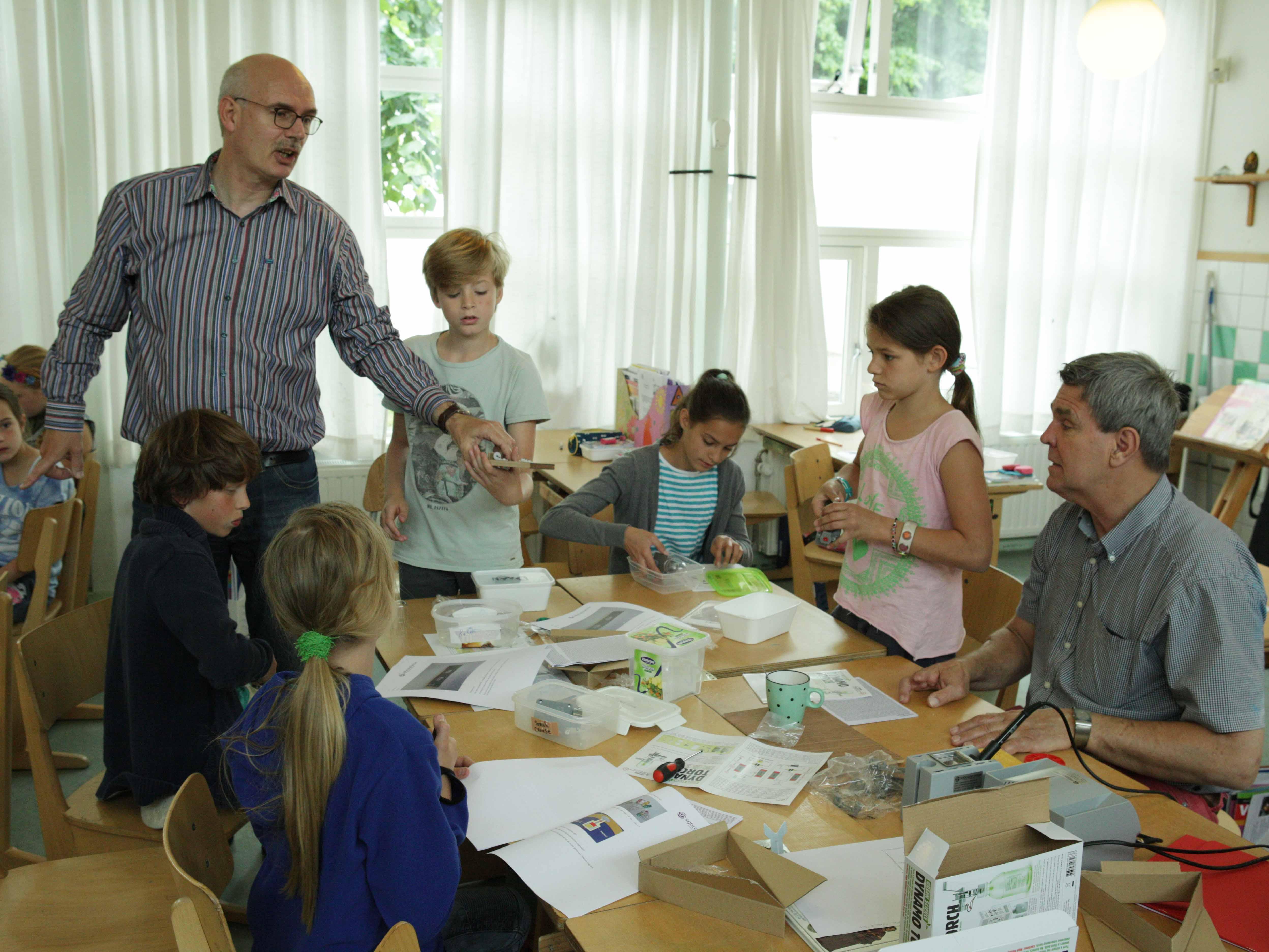 Sijbrand Seine Techniekles Basisschool